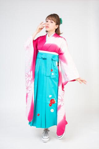 No.5820 古典/絞り/刺繡袴
