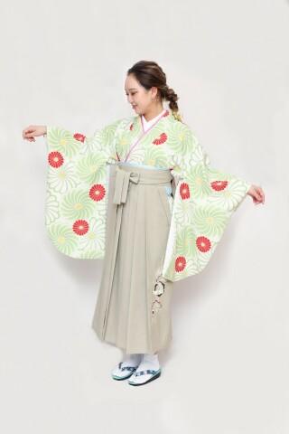 No.5833 古典/菊/刺繡袴