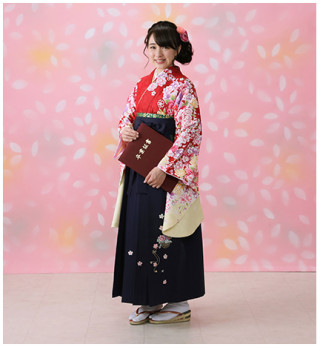 【卒業式】女袴レンタル ※対象:中学生以上
