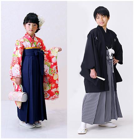 【卒業式】子供用袴レンタル