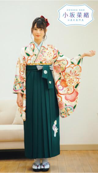 No.5423 日向坂46 小坂菜緒 × 卒業袴