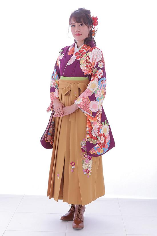 女性用袴の衣装画像1