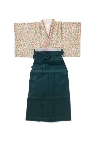 No.887 小花|緑袴