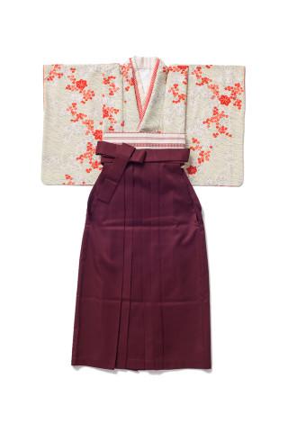 No.891 紅葉|えんじ袴