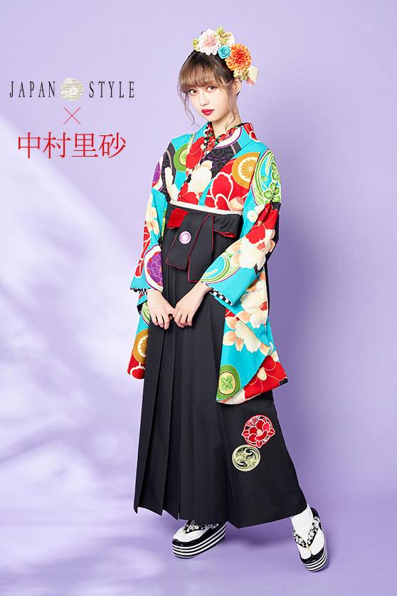 JAPAN STYLE×中村理砂 新作振袖スタイル(アクアブルー)の衣装画像1