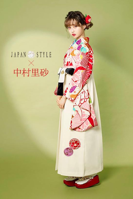 JAPAN STYLE×中村理砂 新作振袖スタイル(ピンク)の衣装画像1