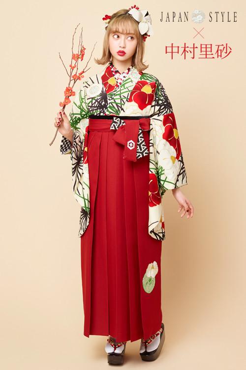 JAPAN STYLE×中村理砂 新作振袖スタイル(ベージュ)の衣装画像1