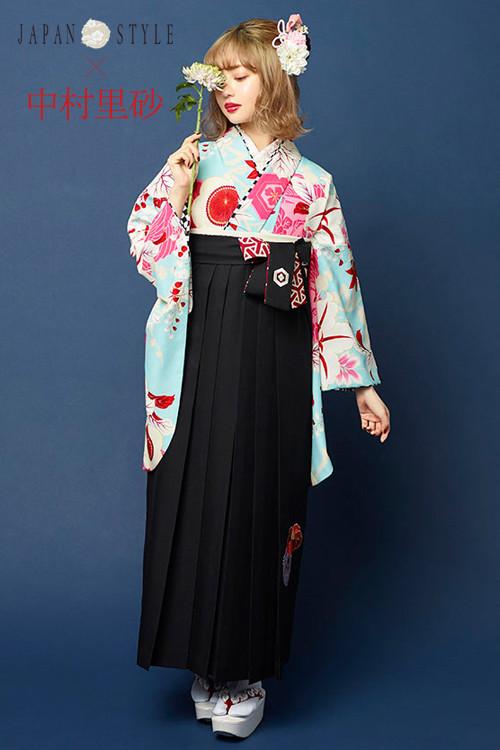 JAPAN STYLE×中村理砂 新作振袖スタイル(水色)の衣装画像1