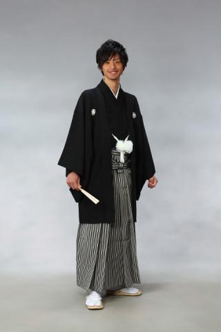 No.472 男子紋付袴(レンタル料金25,000円)※税抜き価格