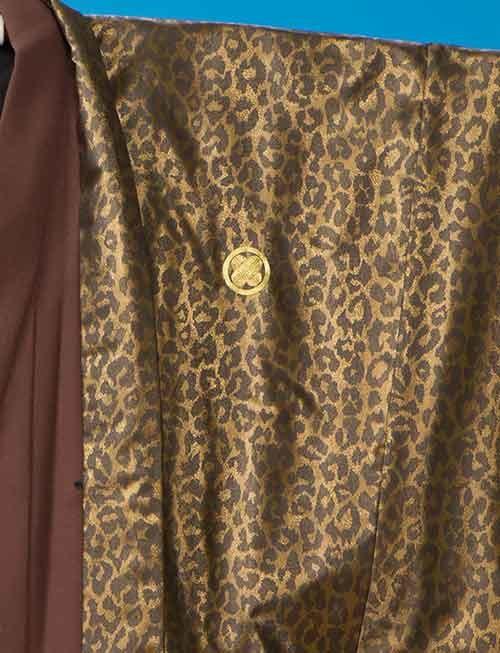 レオパード(ヒョウ柄)紋付の衣装画像2