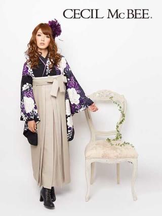 No.535 2013年 CECIL McBEE 卒業袴新作 黒
