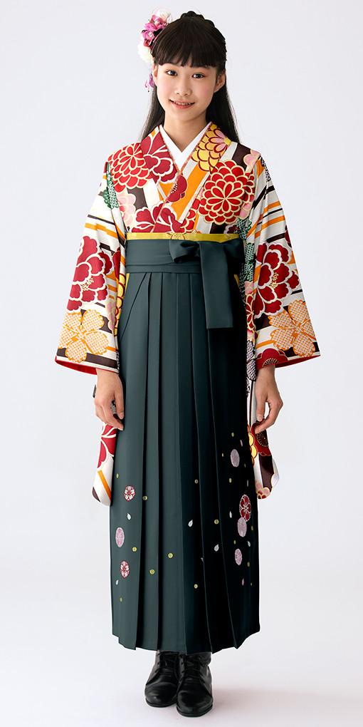 【小学生女子卒業袴】84の衣装画像1