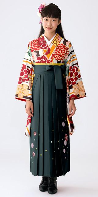 No.609 【小学生女子卒業袴】84
