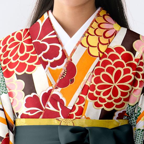 【小学生女子卒業袴】84の衣装画像2