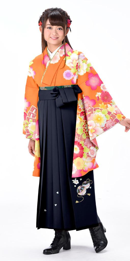 【卒業袴セット】SJ180_A2の衣装画像1