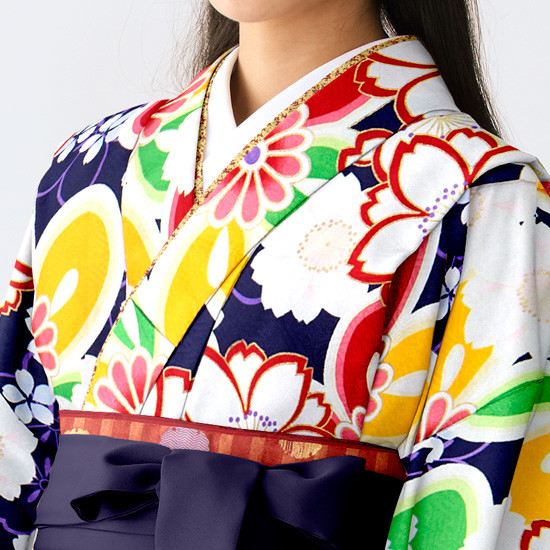 【小学生女子卒業袴】77の衣装画像2