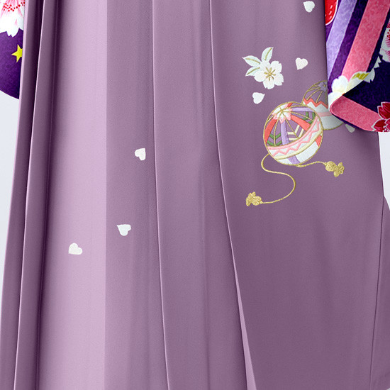 【小学生女子卒業袴】50の衣装画像3
