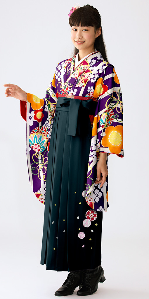 【小学生女子卒業袴】86の衣装画像1
