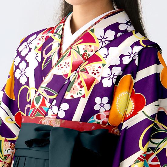 【小学生女子卒業袴】86の衣装画像2