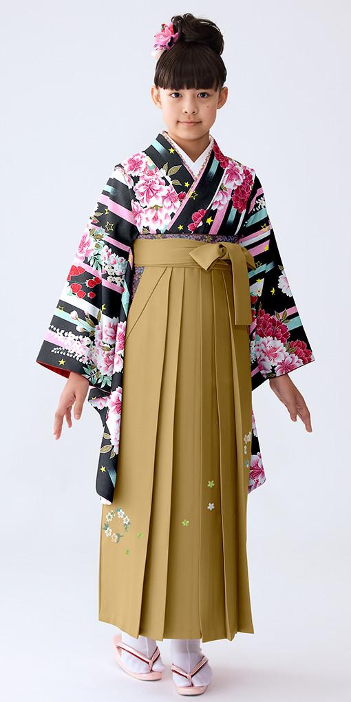 【小学生女子卒業袴】49の衣装画像1