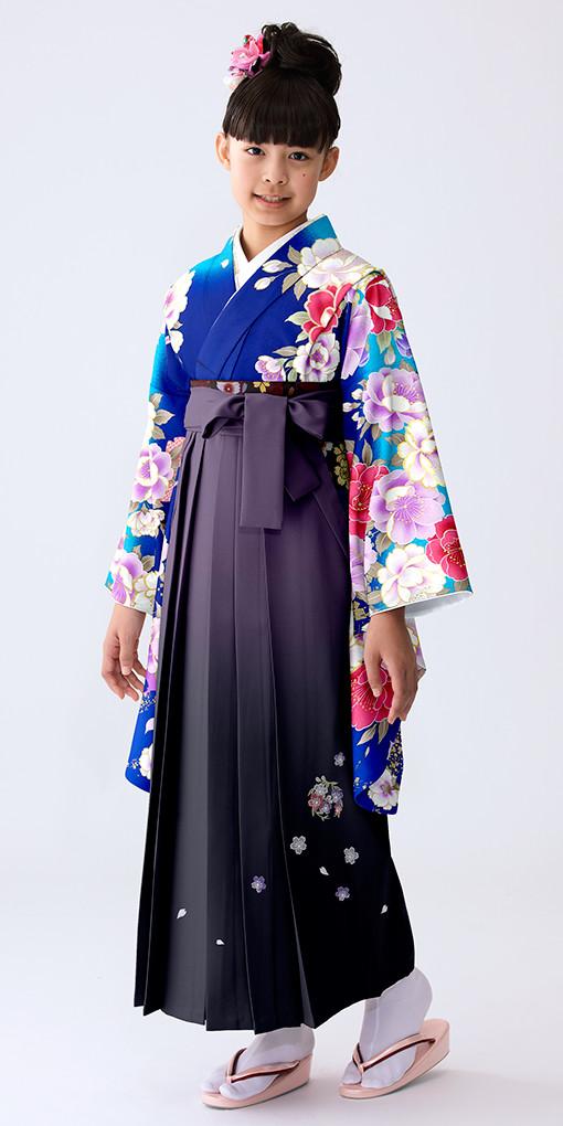 【小学生女子卒業袴】69の衣装画像1
