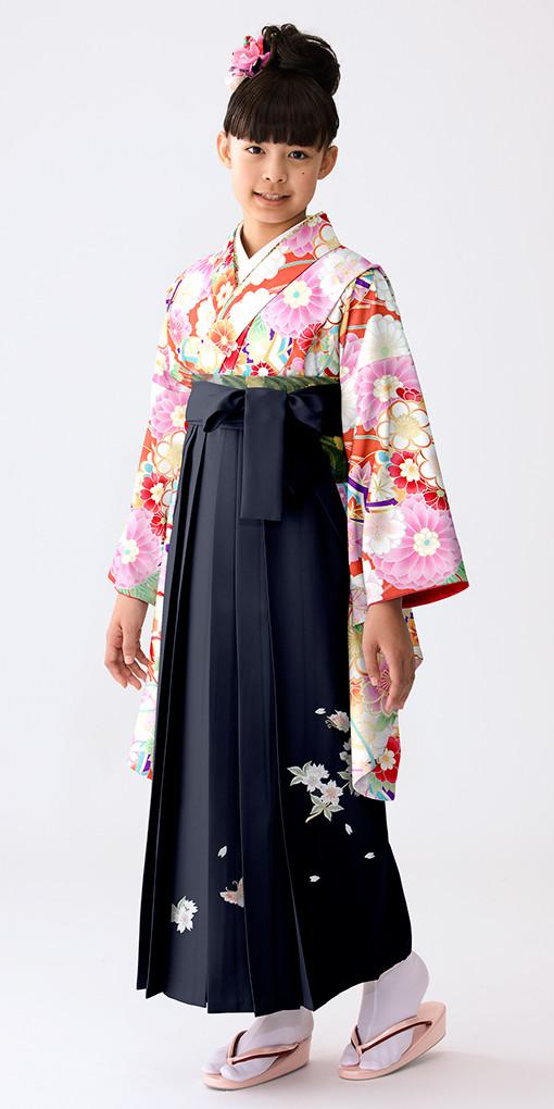 【小学生女子卒業袴】72の衣装画像1