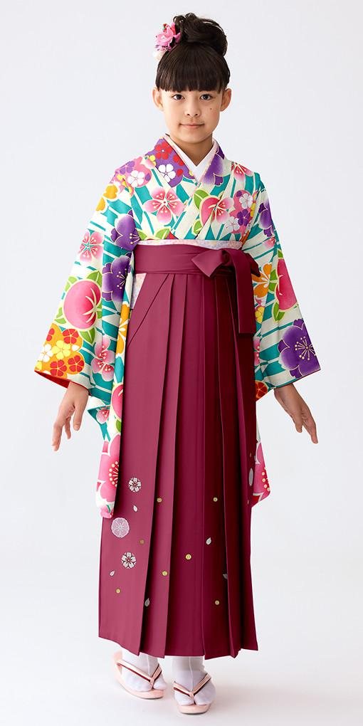 【小学生女子卒業袴】82の衣装画像1