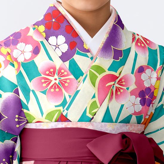 【小学生女子卒業袴】82の衣装画像2