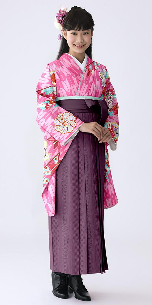 【小学生女子卒業袴】56の衣装画像1