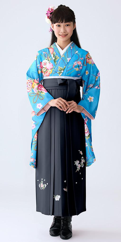 【小学生女子卒業袴】51の衣装画像1