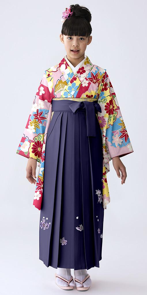 【小学生女子卒業袴】57の衣装画像1
