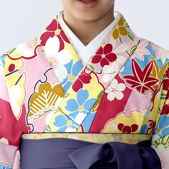 【小学生女子卒業袴】57の衣装画像2