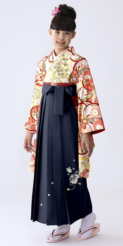 【小学生女子卒業袴】58の衣装画像1