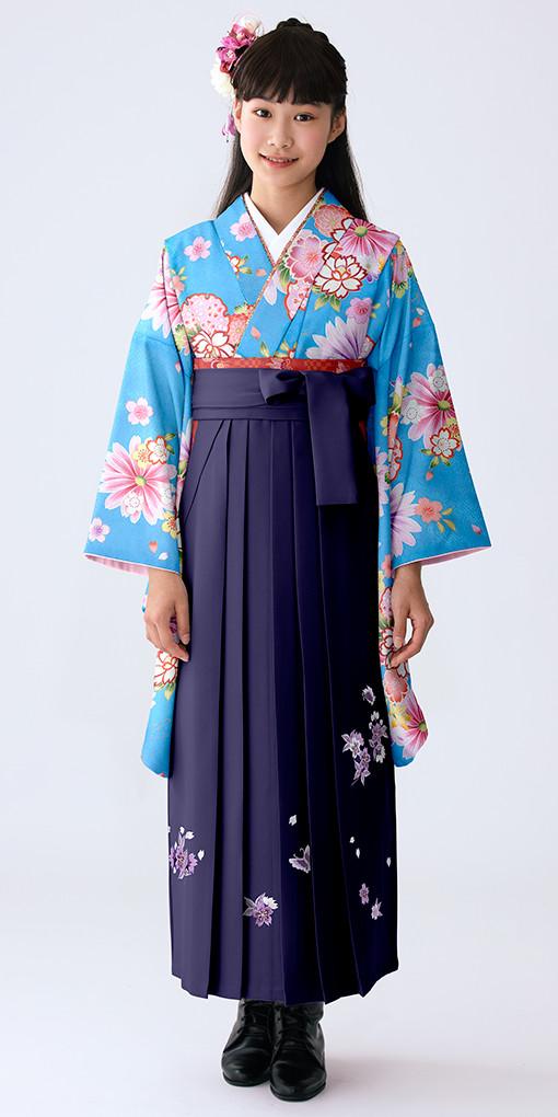 【小学生女子卒業袴】52の衣装画像1