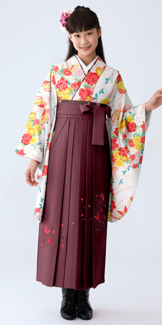 【小学生女子卒業袴】53