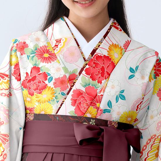 【小学生女子卒業袴】53の衣装画像2
