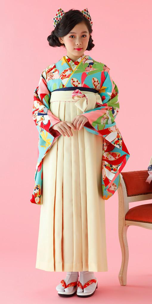【小学生女子卒業袴】78の衣装画像1