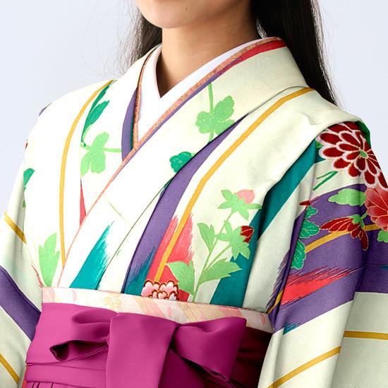 【小学生女子卒業袴】55の衣装画像2