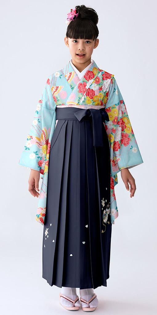 【小学生女子卒業袴】54の衣装画像1