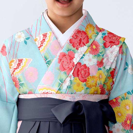 【小学生女子卒業袴】54の衣装画像2