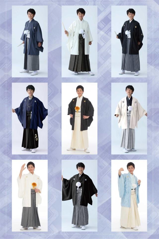 【小学生男子紋付袴】007の衣装画像2