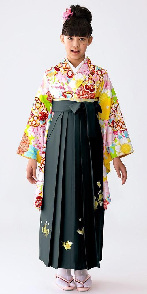 【小学生女子卒業袴】74の衣装画像1