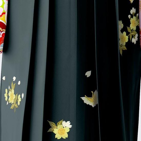 【小学生女子卒業袴】74の衣装画像3