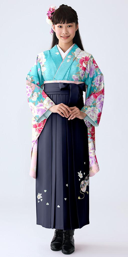 【小学生女子卒業袴】68の衣装画像1
