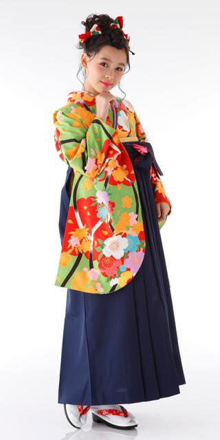 No.654 【小学生女子卒業袴】80
