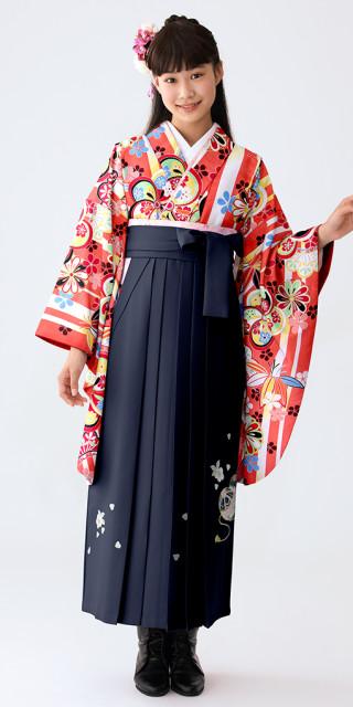 No.658 【小学生女子卒業袴】75