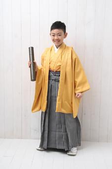 小学生男児卒業袴10000円~の衣装画像1