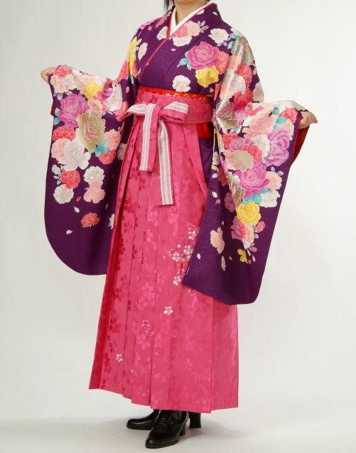 アゲハ風卒業袴の衣装画像1