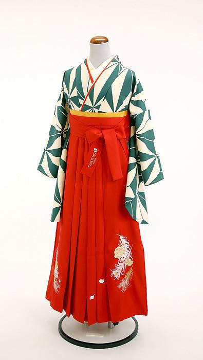 ブランド袴【赤】の衣装画像1