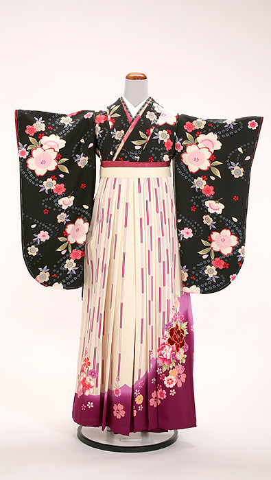 ブランド袴【矢絣】の衣装画像1